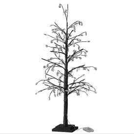 【送料無料】クリスマス LEDブランチツリー クリスタル ブラック Lサイズ クリスマスツリー led ライト おしゃれ 90cm usb アンティーク