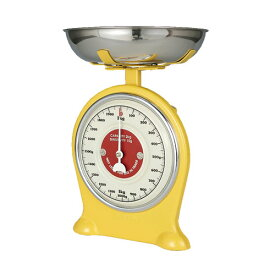 OLD FASHIONED SCALE YELLOW ダルトン キッチンスケール 2kg 計量器 量り はかり 計り アナログ