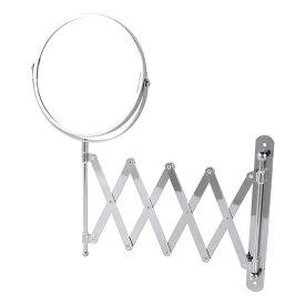 EXTENDING MIRROR ダルトン ミラー 鏡 壁掛け 丸 拡大鏡 3倍 おしゃれ
