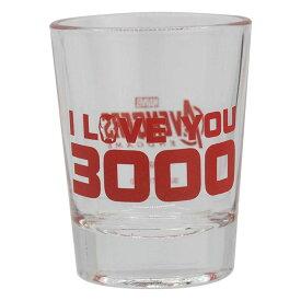 ミニタンブラー I LOVE YOU 3000-1 アベンジャーズ グッズ マーベル カップ コップ グラス タンブラー
