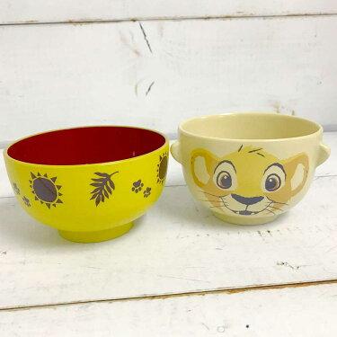 【2個以上で送料無料】汁椀茶碗セットミニ(クレヨンタッチ)シンバ【F】ライオンキンググッズ茶碗ディズニーセット子供女性ご飯茶碗