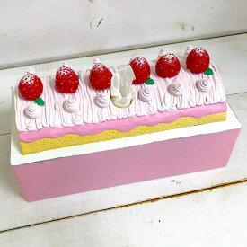 ティッシュケース ロールケーキ おもしろ雑貨 ティッシュカバー ティッシュボックス 面白 便利 グッズ ユニーク 雑貨
