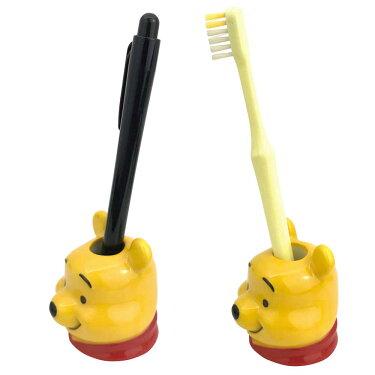 ダイカット歯ブラシスタンドくまのプーさんディズニープーさん歯ブラシホルダー歯ブラシスタンドペンスタンド1本