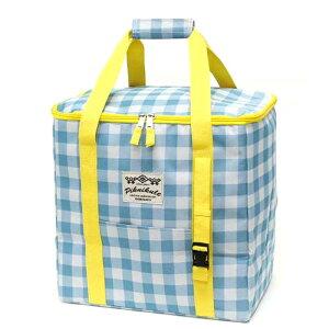 マミーフィールド クーラースクエアートールバック  ギンガムチェック クーラーバック クーラーボックス 保冷バッグ 保冷バック おしゃれ かわいい