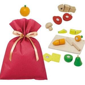 【送料込】ウッデントイ ちいさなコックサン ギフトセット【L】 木のおもちゃ ままごと 女の子 知育 木製玩具 プレゼント 雑貨 ラッピング 誕生日 内祝い 新居祝い 引越祝い 卒業祝い 入学