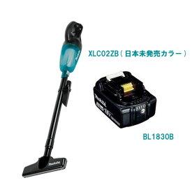 マキタ 掃除機 クリーナー 充電式 コードレス 18V MAKITA XLC02ZB 限定カラー 日本未発売 本体のみ 掃除機 クリーナー(CL180FDZW CL181FDZW) & BL1830B バッテリー 18V 純正 3.0Ah