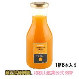 【1ケース(6本入り)】フルーツソースマンゴー300g 【20%OFF】