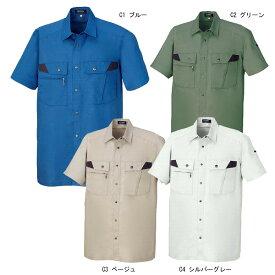 ■半袖シャツ (D1-18003) 18003 DAIRIKI ダイリキ 作業服・作業着・春夏用