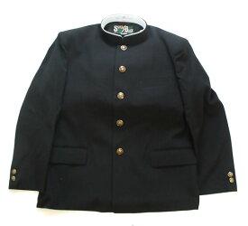 学生服の本場 倉敷児島の学生服メーカーの全国標準型認証マーク付きです。ポリエステル50%ウール50% 最高品質の日本生地 レギュラーえり  上着 学ラン 48801 A体 AB体 B体もアウトレット価格での販売です