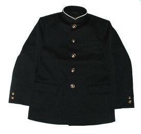 学生服の本場 倉敷児島の学生服メーカーの全国標準型認証マーク付きです ポリエステル100% ラウンドえり 上着 学ラン 37002