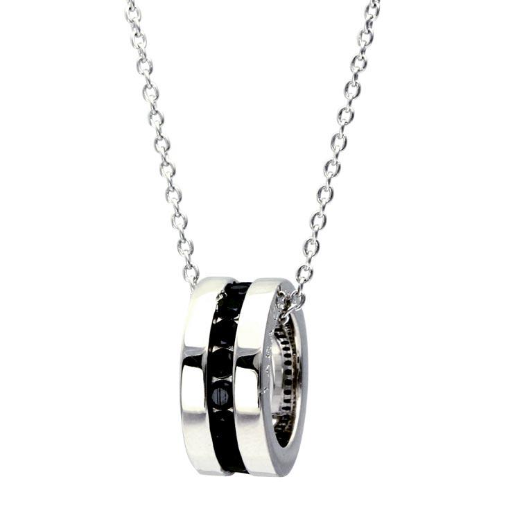 ネックレス メンズ LARA Christie (ララクリスティー)エタニティ ネックレス [ BLACK Label ] シルバー ネックレス 父の日 プレゼント