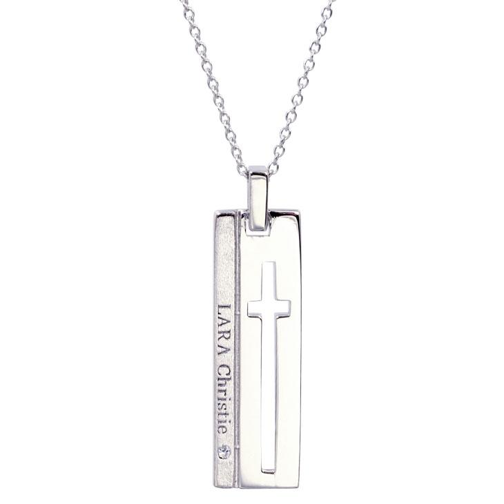 LARA Christie (ララクリスティー)ウィッシュクロス ネックレス[ WHITE Label ] シルバー ネックレス レディース
