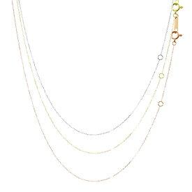 ネックレス チェーン ゴールド ネックレス チェーン あずき 小豆 アズキ チェーン ネックレス レディース 40cm Sears (シアーズ) ホワイトデー ギフト