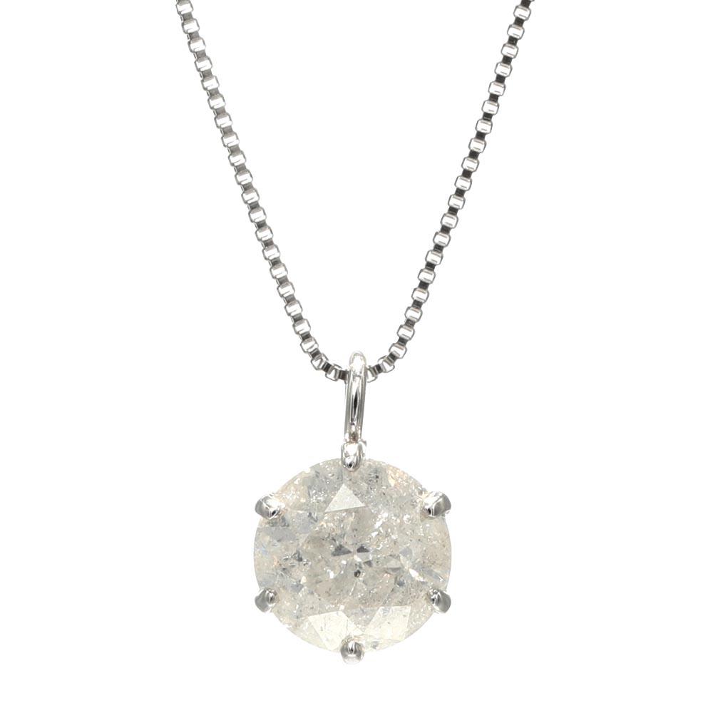 ネックレス レディース Velsepone(ベルセポーネ) PT999 純プラチナ ダイヤモンド 0.5ct鑑別付き 送料無料 vp-324554-05ct