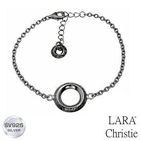 【宇垣美里 着用モデル】 ブレスレット メンズ LARA Christie ララクリスティー ローラシア BLACK Label sb5719-b 人気ブランド