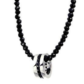 ネックレス メンズ LARA Christie (ララクリスティー)エタニティ ネックレス BSモデル[BLACK Label ] シルバー メンズネックレス 誕生日プレゼント
