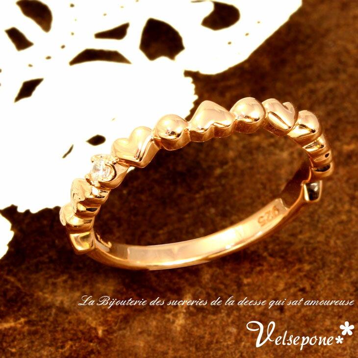 Velsepone (ベルセポーネ) Charmant シャルマン リング 指輪 レディース ピンキーリング