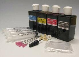 (ZCH120BCL)HP/NEC/シャープ/カシオ/SONY用 詰め替えインク 器具付 4色セット (ヘッド付タイプ)