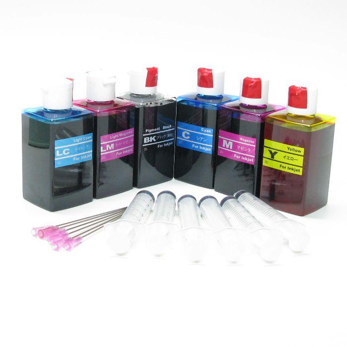 (RPE120CLX6-T) EPSON エプソン 120ml リピートインク 器具付 6色セット
