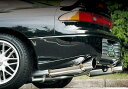 【ZEES サイバーGT左右出し】Z15A/Z16A三菱GTO【スタンダード:ハーフステンレス】