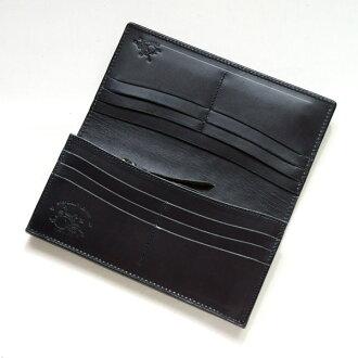 真皮皮包八達通專有 KAWATAKO 溢價苗條長類型-L-黑色鱷魚皮夾 / 錢包