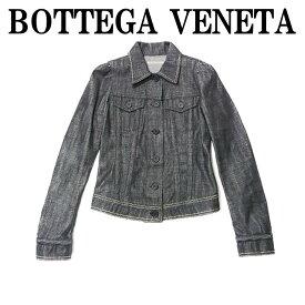 ボッテガヴェネタ BOTTEGA VENETA ジャケット ボッテガヴェネタ インディゴ スタッズ デニムジャケット 40 BOTTEGA VENETA 人気ボッテガヴェネタ ブランドギフト 誕生日 プレゼント