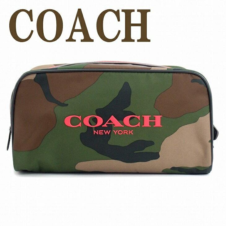 コーチ バッグ COACH コーチ メンズ セカンドバッグ クラッチバッグ アウトレット トラベル セカンドポーチ カモフラージュ カモ 迷彩柄 ブランド 93446DYA ブランド 人気