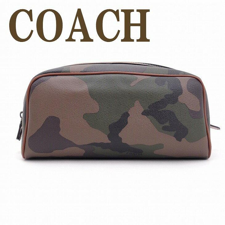 コーチ バッグ メンズ COACH コーチ セカンドバッグ トラベル セカンドポーチ カモフラージュ カモ 迷彩柄 ブランド 93590EC0 ブランド 人気