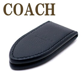 コーチ 財布 メンズ COACH マネークリップ レザー ブラック 11456BLK ブランド 人気