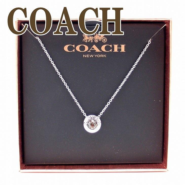 コーチ COACH ネックレス チェーン ペンダント オープンサークル ボックス 54514-SLV ブランド 人気