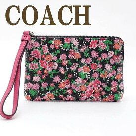 コーチ ポーチ COACH ハンドポーチ スマホケース リストレット 財布 iPhoneケース スマホ 56504SVPMC ブランド 人気