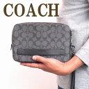 コーチ バッグ メンズ セカンドバッグ COACH クラッチバッグ 財布 セカンドポーチ 58541CQBK ブランド 人気 誕生日 プレゼント ギフト