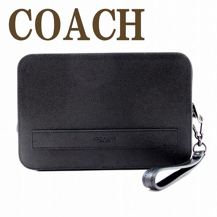 コーチ COACH バッグ メンズ セカンドバッグ クラッチバッグ 財布 セカンドポーチ 59117BLK ブランド 人気 誕生日 プレゼント ギフト