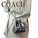 コーチ COACH バッグ ショルダーバッグ 斜めがけ 巾着 レザー 希少モデル 28039IMBLK ブランド 人気