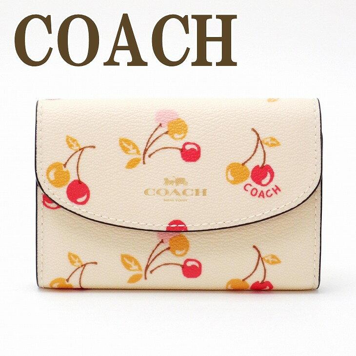 コーチ COACH レディース キーケース キーリング 6連 チェリー ロゴ 31905IMCAH ブランド 人気