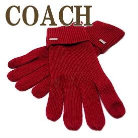 コーチ COACH 手袋 グローブ ニット スマホ対応 レディース 34259BRD ブランド 人気