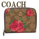 コーチ 財布 COACH 二つ折り 財布 レディース 花柄 38704IMLLW ブランド 人気
