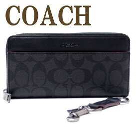 コーチ COACH 財布 メンズ 長財布 キーリング キーホルダー 2点セット ギフトセット 41345N3A ブランド 人気