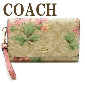 コーチ COACH ポーチ ハンドポーチ リストレット 財布 二つ折り リストレット シグネチャー 73373IMOE3 ブランド 人気