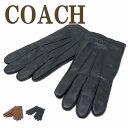 コーチ COACH メンズ グローブ 手袋 レザー カシミヤ混 54182 ブランド 人気