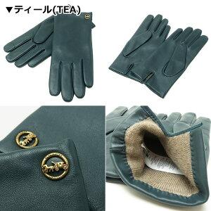 コーチCOACHグローブレディース手袋スマホ対応テックグローブレザー76310ブランド人気