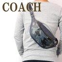 コーチ COACH バッグ メンズ ショルダーバッグ 斜めがけ ウエストバッグ レザー 迷彩柄 カモフラージュ 76842QBBLM ブランド 人気