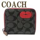 コーチ COACH 財布 メンズ 二つ折り財布 シグネチャー レザー ラウンドファスナー 237QBQBK ブランド 人気