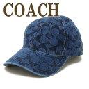 コーチ COACH 帽子 キャップ ベースボールキャップ ハット つば付 シグネチャー 68403DEN ブランド 人気