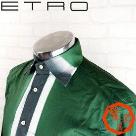 エトロ ETRO シャツ メンズ ドレスシャツ タイダイストライプ ETRO-001-39 ブランド