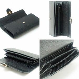 グッチGUCCI財布長財布メンズレディースインターロッキングGGブラック黒598166-CAO0G-1000ブランド人気