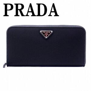 プラダPRADA財布メンズ長財布レディースラウンドファスナーNEROブラック黒1ML506-UZ0-F0002ブランド人気