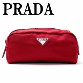 プラダ PRADA ポーチ コスメポーチ 化粧ポーチ 小物 ロゴ 1NA350-2BQP-F068Z ブランド 人気