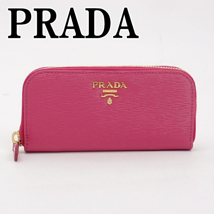 プラダ キーケース PRADA プラダ ラウンドファスナー 6連 レザー 1PG604-2EZZ-F0D17 ブランド 人気
