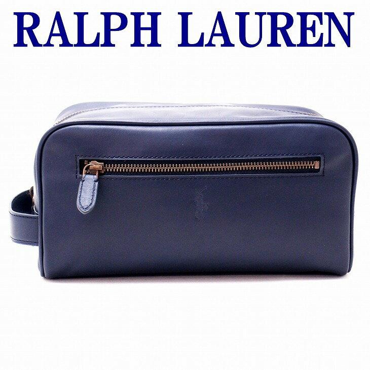 ポロ ラルフローレン バッグ メンズ セカンドバッグ RALPH LAURENクラッチバッグ セカンドポーチ レザー製 RL-4056-2178-3005 誕生日 プレゼント ギフト